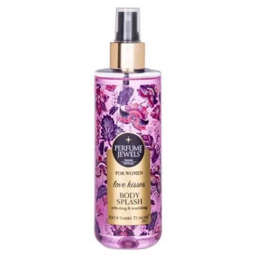 Eyüp Sabri Tuncer Perfume Jewels Women Love Kisses Vücut Spreyi 250 ml