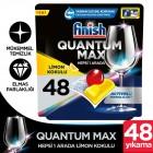 Finish Quantum Max Limonlu Bulaşık Makinesi Tableti 48 li