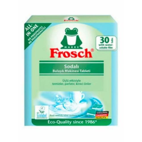 Frosch Sodalı Bulaşık Makinesi Tableti Fosfatsız 30 Tablet