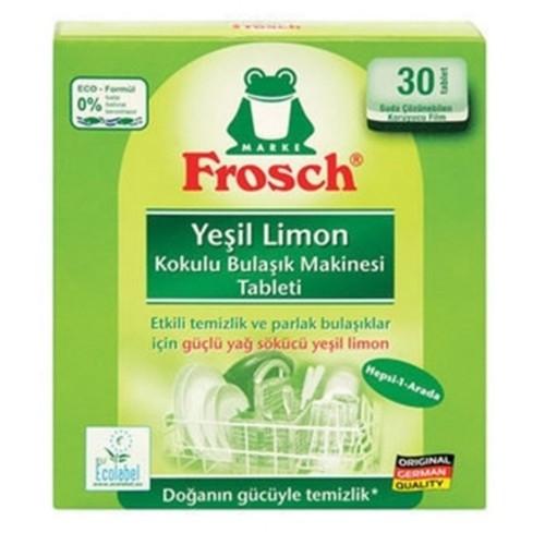 Frosch Yeşil Limonlu Bulaşık Deterjanı Tablet 30 lu