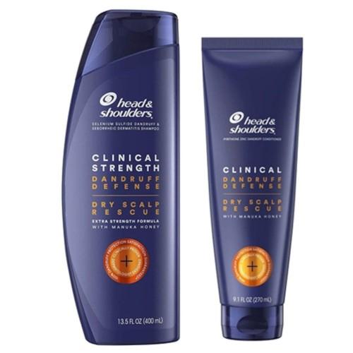 Head & Shoulders Clinical Strength Şampuan 400 ml + Saç Kremi 265 ml