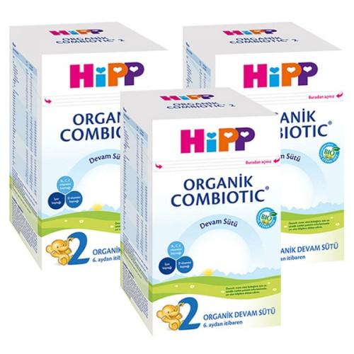Hipp 2 Organik Devam Sütü Combiotic 800 gr x 3 Adet