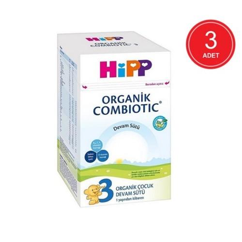 Hipp 3 Combiotic Organik Devam Sütü 800 gr x 3 Adet
