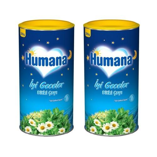 Humana İyi Geceler Bitki Çayı 200 gr x 2 Adet