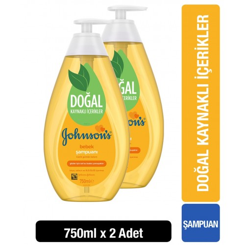 Johnsons Baby Şampuan 750 ml x 2 Adet