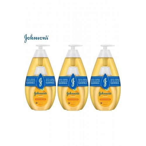 Johnsons Baby Şampuan Set 750 ml + 200 ml x 3 Adet