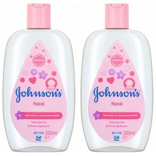 Johnsons Kolonya Floral 200 ml x 2 Adet
