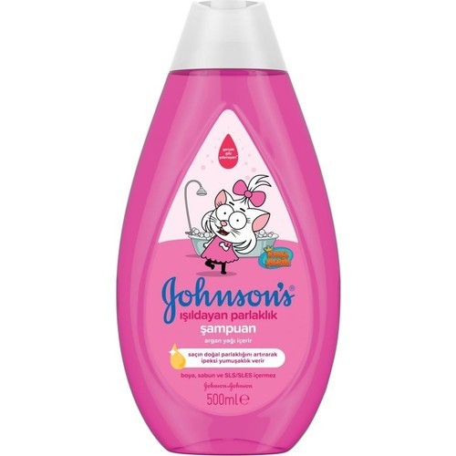 Johnsons Kral Şakir Işıldayan Parlaklık Şampuan 500 ml