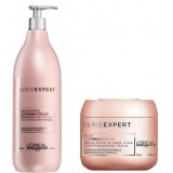Loreal SerieExpert Vitamino Color Şampuan 980 ml + Color Maske 75 ml
