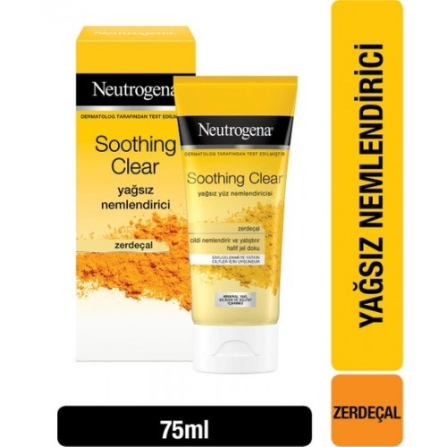 Neutrogena Soothing Clear Nemlendirici 75 ml