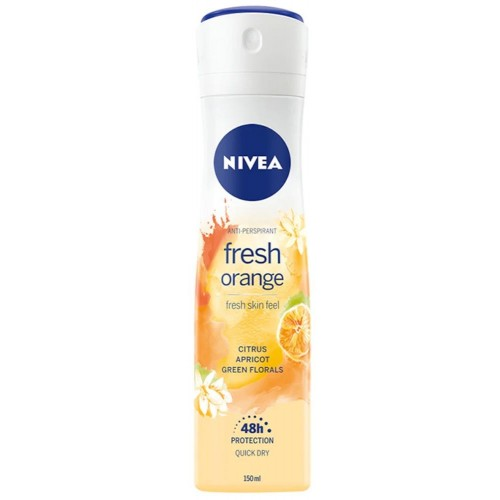 Nivea Anti-Perspirant Fresh Orange Deodorant 150 ml