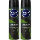 Nivea Men Deep Dimension Amazonia Deodorant 150 ml x 2 Adet