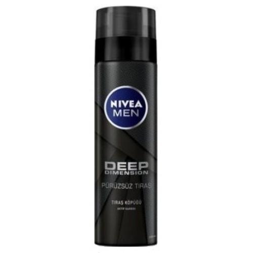 Nivea Men Deep Dimension Tıraş Köpüğü 200 ml
