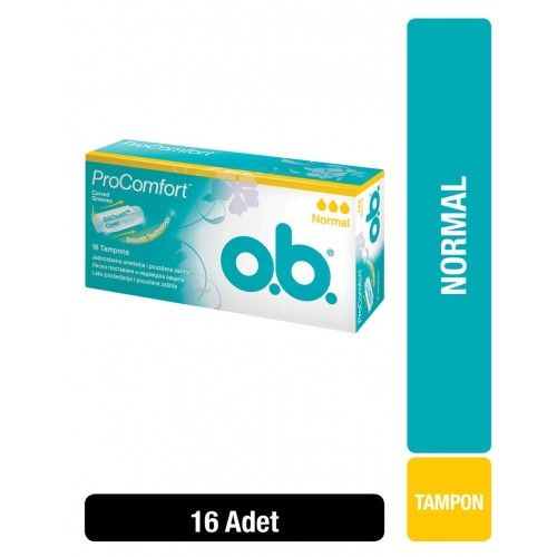 O.B. Tampon Comfort Normal 16 Adet
