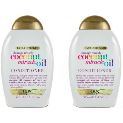 Ogx Coconut Miracle Oil Saç Kremi 385 ml x 2 Adet