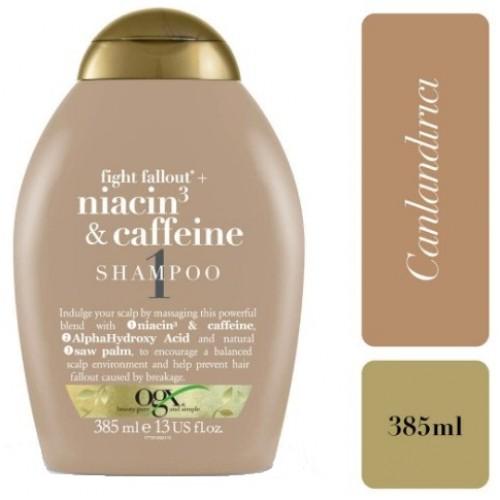 Ogx Dökülme Karşıtı Niacin & Caffeine Şampuan 385 ml