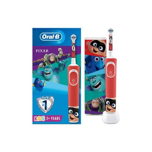 Oral-B Çocuk D100 Pixar Şarj Edilebilir Diş Fırçası + Seyahat Kabı