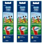 Oral-B Stages Power Diş Fırçası Yedeği 2'li Paket (MICKEY MOUSE) 3  lü