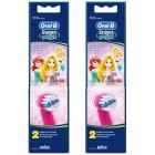 Oral-B Stages Power Diş Fırçası Yedeği 2'li Paket (PRINCESS) x 2 Adet