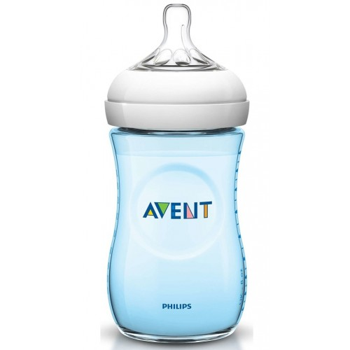 Philips Avent SCF035/17 Natural PP Biberon 260 ml Mavi