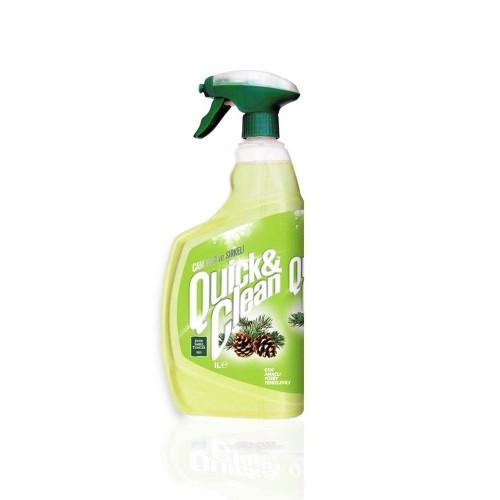 Quıck & Clean Çok Amaçlı Yüzey Temizleyici Doğal Çam Yağlı 1 lt