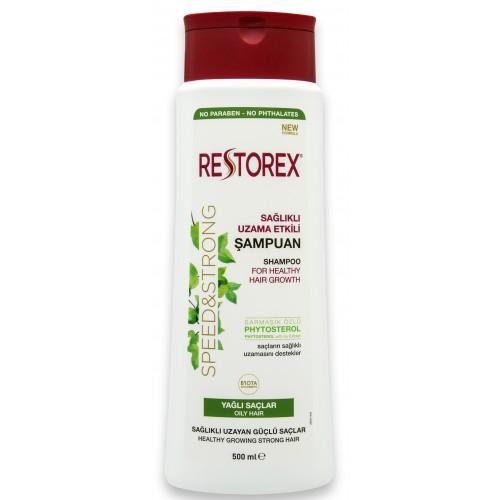Restorex İnce Telli Ve Yağlı Saçlar İçin Şampuan 500 ml