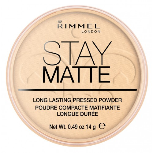 Rimmel London Stay Matte Pressed Powder Pudra 001 Transparent