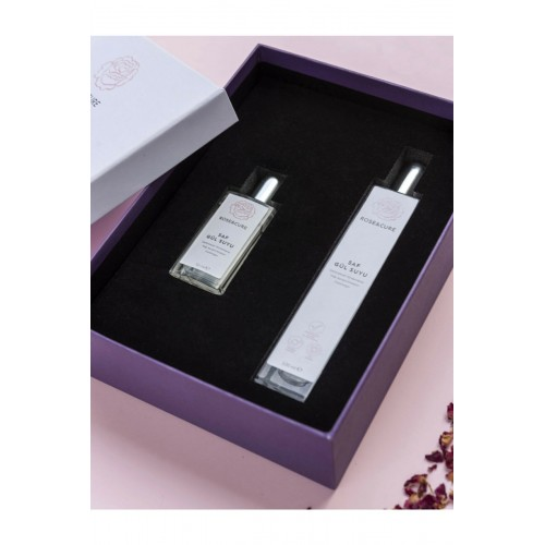 Rose and Cure Saf Gül Suyu Home And Travel Set 50 ml+100 ml
