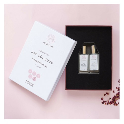 Rose and Cure Travel And Purse Set 50 ml+50 ml