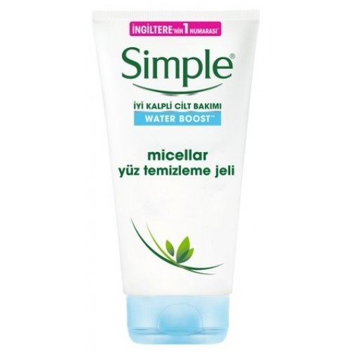 Simple Water Boost Micellar Yüz Temizleme Jeli 150 ml