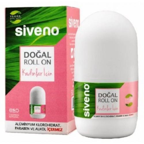 Siveno Doğal Roll-On Kadınlar İçin 50 ml