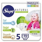 Sleepy Natural Bebek Bezi Junior 5 No 72 li