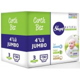 Sleepy Natural Bebek Bezi Midi 3 No 136 lı