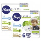 Sleepy Natural Külot Bez X Large 6 No 60 lı x 2 Adet