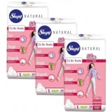 Sleepy Natural Slim İnce Ped Normal 30 lu x 3 Adet