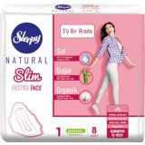 Sleepy Natural Slim İnce Ped Normal 8 li