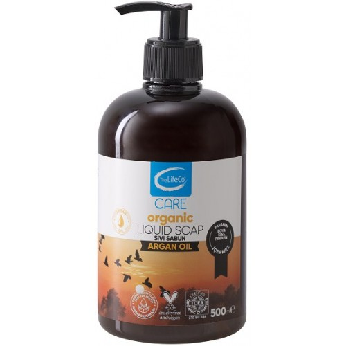 The LifeCo Care Organik Sıvı Sabun Argan Yağı 500 ml
