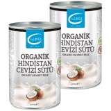 The LifeCo Organik Hindistan Cevizi Sütü 400 ml x 2 Adet