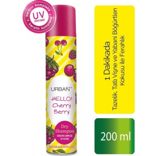 Urban Care Cherry Berry Kuru Şampuan 200 ml