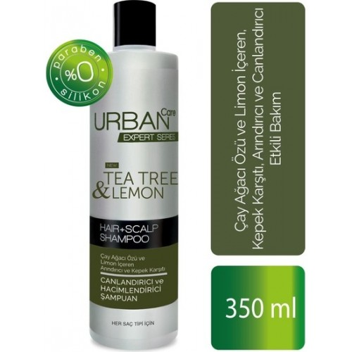 Urban Care Expert Tea Tree & Lemon Arındırıcı Şampuan 350 ml