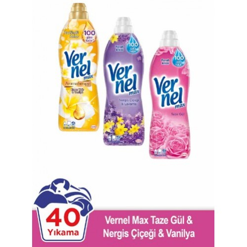 Vernel Max 960 ml x 3 Adet