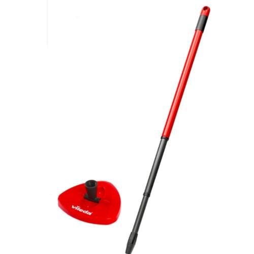 Vileda Turbo Yedek Sap + Üçgen Başlık