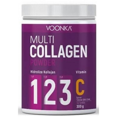 Voonka Multi Collagen Powder + Vitamin C 300 gr