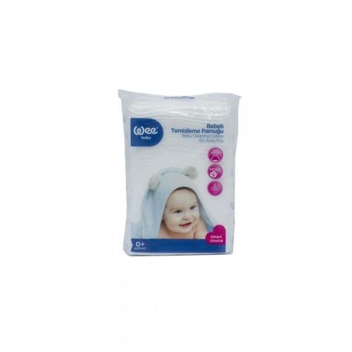 Wee Baby Bebek Temizleme Pamuğu 60 lı