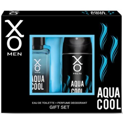 Xo Aqua Cool Men Edt 100 ml + Deodorant 125 ml