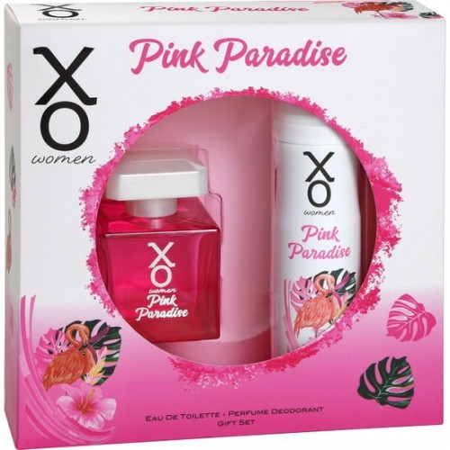 Xo Pink Paradise Women Edt 100 ml + Deodorant 125 ml