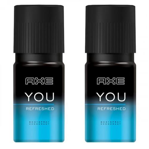 Axe Deodorant Sprey You Refreshed 150 ml x 2 Adet