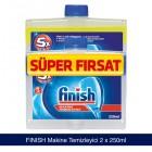 Finish Çift Etkili Makine Temizleyici Sıvı 2li Paket