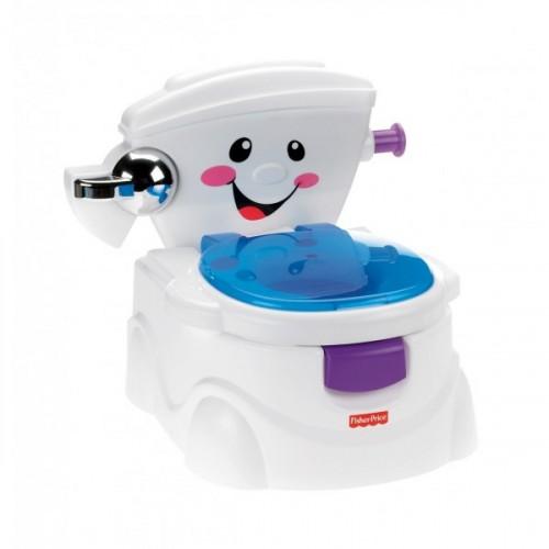 Fisher Price Eğitici Eğlenceli Tuvalet BMD23 (Türkçe)