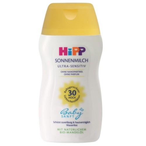 Hipp Babysanft 30+ Güneş Sütü 200 ml